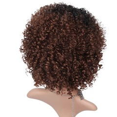 Generic Curly Wave Hair Small volume female wig