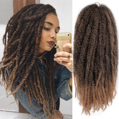 "Wig African viscera 18"" caterpillar explosion head marley braids"