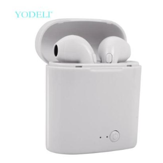 Bluetooth Earphones Mini Wireless Earbuds Sport Handsfree Earphone Cordless Headset with Charging Box for xiaomi Phone