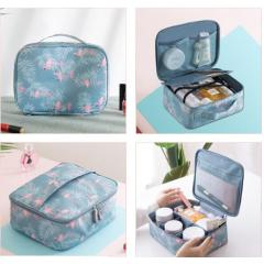 Multi-grid travel storage box Factory direct ladies large portable waterproof cosmetic bag