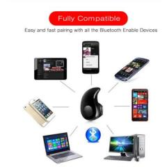 Bluetooth Earphone Mini Wireless in ear Cordless Hands free Headphone Sport Stereo Headset Earbuds Phone For Samsung
