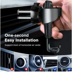 Gravity Holder For Phone in Car Air Vent Clip Mount No Magnetic Mobile Phone Holder Cell Stand Support For iPhone XS 8 7