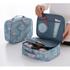 Multi-grid travel storage box Factory direct ladies large portable waterproof cosmetic bag