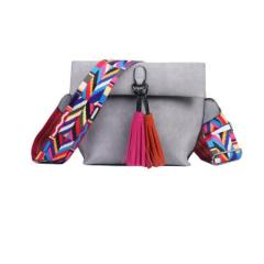 Women's Bag Scrub PU Crossbody Bags Luxury Handbags Women Bags Designer bolso mujer Colorful Strap sac a main femme