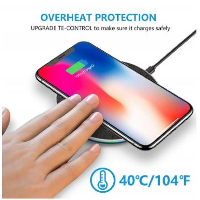 10W Fast Qi Wireless Charger For iPhone 8 Plus X XS MAX XR Wireless Charging Pad For Samsung S8 Note 8 Wirless for Phone