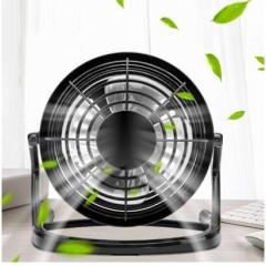 Portable DC 5V Small Desk USB 4 Blades Cooler Cooling Fan USB Mini Fans Operation Super Mute Silent for dropshipping