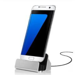 Micro USB Magnetic Charging Dock Charger Cradle Replacement Dock Charge Cradle Docking Station For Samsung S7Edge Cellphone