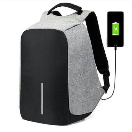 15 inch Laptop Backpack USB Charging Anti Theft Backpack Men Travel Backpack Waterproof School Bag Male Mochila