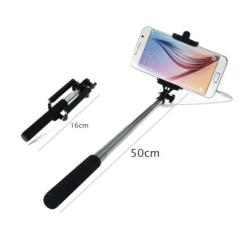 Durable Metal Shaft 1PC Mini Extendable Handheld Fold Self portrait Stick Holder Monopod Easy Adjust to Any Angle