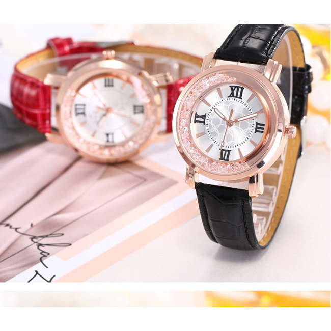 Women's watch quicksand ball quartz watch fashion new student belt watch female models
