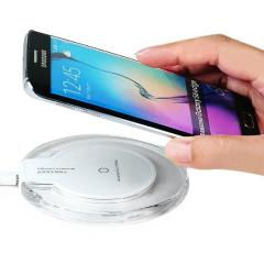 Wireless Charging Pad For iPhone X XS XR 8 Plus Samsung S9 S8 S7 S6 High Quality Wireless Charger + Micro USB Charging Cable