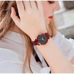 Women Starry Sky Watch Luxury Magnetic Buckle Mesh Band Quartz Wristwatch Female Rose Gold Diamond Watches zegarek damsk