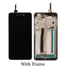 Black/White/Gold for Xiaomi Redmi 4A LCD Display Touch Screen Assembly Replacement For Redmi 4A pro prime Mobile Phone + Frame