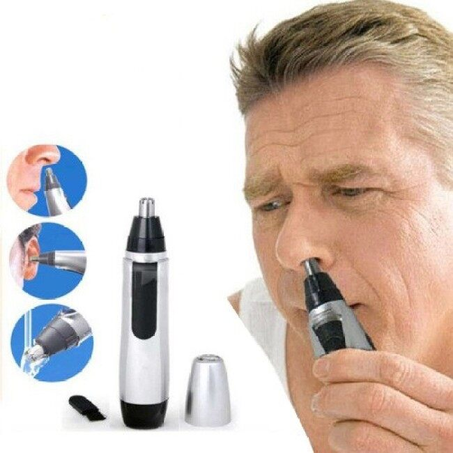 1pc Electric Ear Nose Hair Trimmer Ear Face Neat Clean Trimer Razor Removal Shaving Personal Care Clipper Shaver for Men