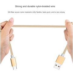 2m Metal Braided Micro USB Data Cable For Huawei Mate 7 8 P7 P8 Honor 6 Plus 7C Redmi 5 5A 6 Pro Phone USB Charging Cable