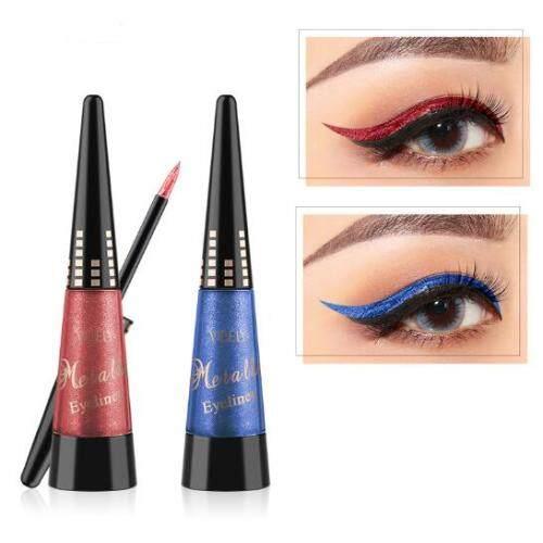 Colored shiny pearl eyeliner Diamond high gloss eyeliner durable waterproof liquid eye shadow