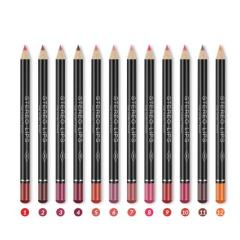 Lip liner 12 color/set matte waterproof lip lipstick pen