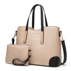 Spring and summer new women's bag embossed fashion boutique shoulder portable handbag crocodile diagonal cross-branches