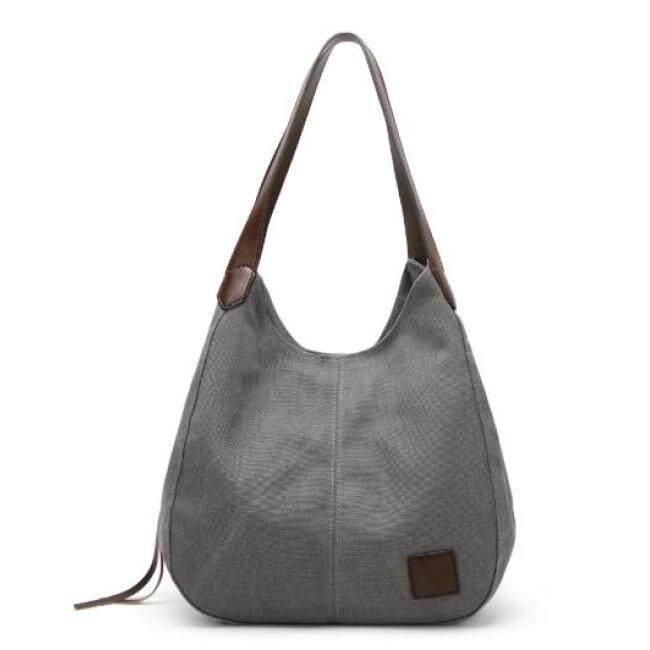 Canvas bag female simple shoulder bag handbag 2019 new canvas bag fashion wild retro art