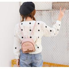Multifunctional sweet lady backpack 2019 Japan and South Korea new fashion contrast color backpack shoulder diagonal female bag tide ride