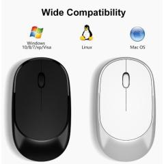 Wireless Bluetooth single mouse office optical mouse silent portable notebook