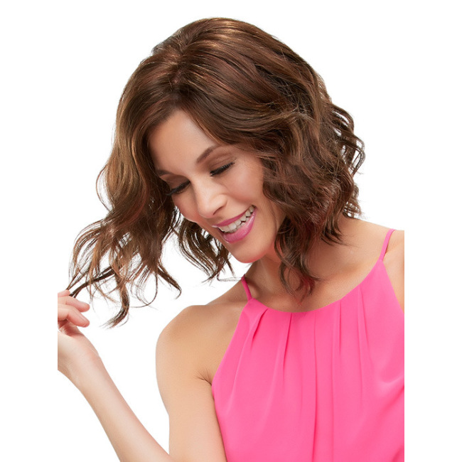 European and American fashion ladies short curly hair wig