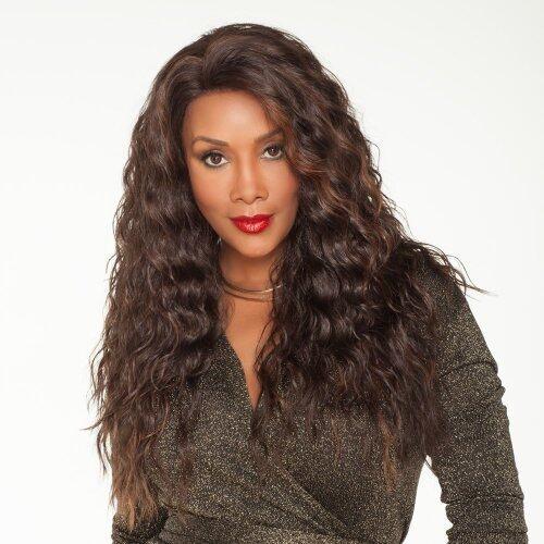 Fashion Curly Weavon Long curly hair Fashion full headgear
