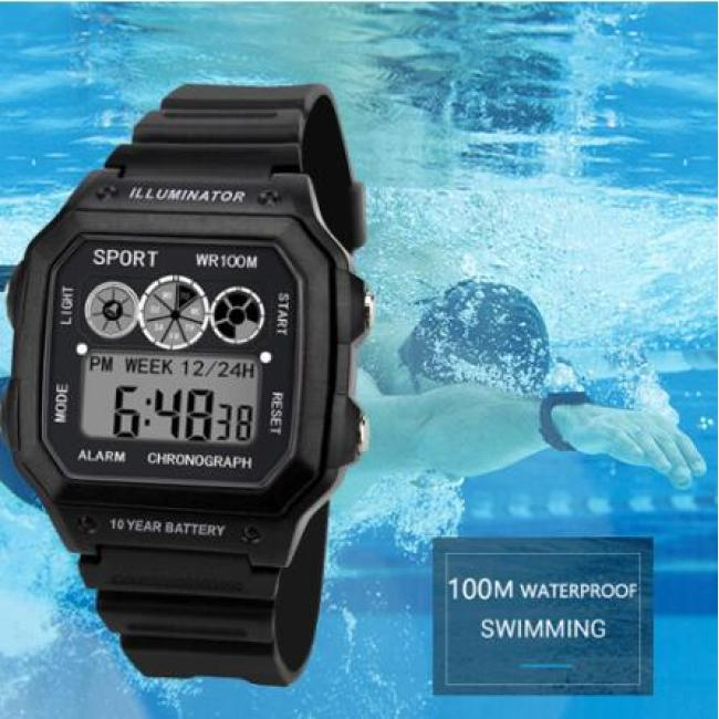 2019 Watches Men Watch Electronic Digital Display Retro Style Clock Men Relogio Male reloj hombre Men's Watch