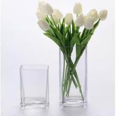 Square Vase-T 10x10cm H25cm