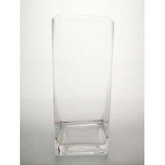 Square Vase-T 12x12cm H30cm