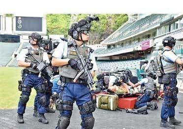 شرح سلسلة حزام خدمة الشرطة