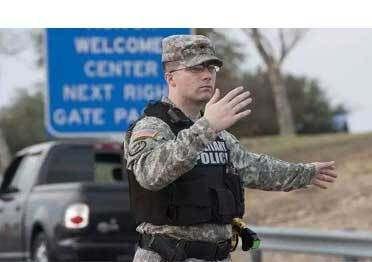 درع الشرطة العسكرية الأمريكية - بلانك R20-D سترة مضادة للرصاص