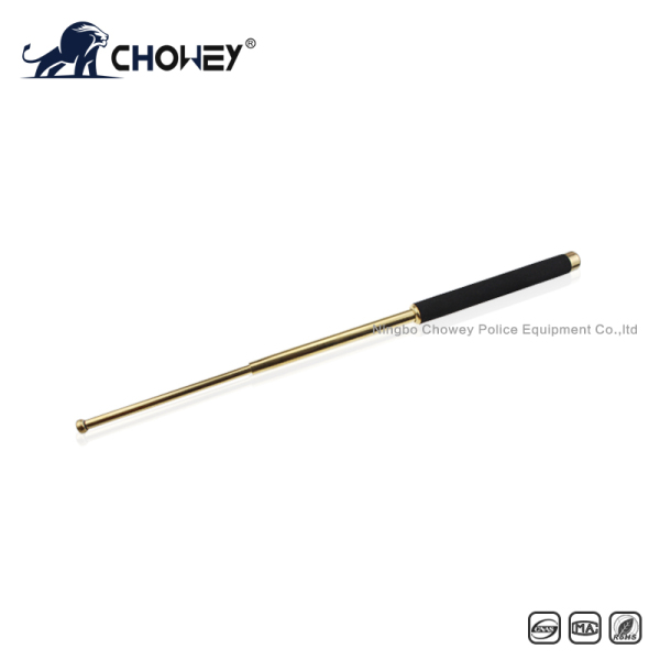 High-quality sponge handle expandable baton BT26G028 gold