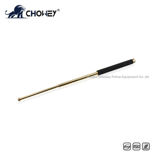 High-quality sponge handle expandable baton BT26G028 gold