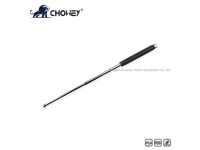High-quality rubber handle steel expandable baton BT26S068 sliver