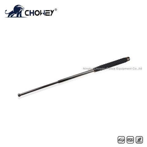 Anti riot telescopic expandable baton BT26B126 with welding ring black