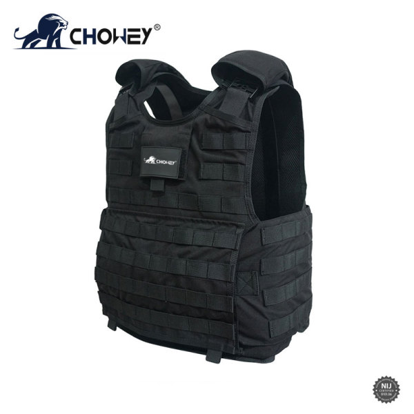 Quick Release Bulletproof Vest Black Color BV0488