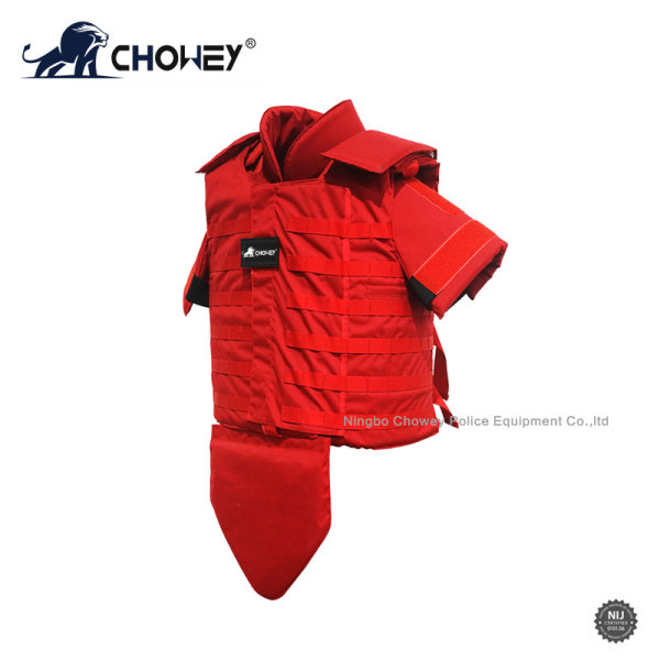 Military Full Protection Bulletproof Jacket Red Color BV0566