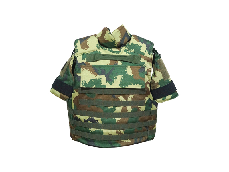 Armed police camouflage full-protection tactical bulletproof vest BV0987