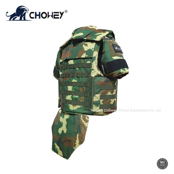 Military Full Protection Jungle Bulletproof Jacket Camouflage Color BV0987
