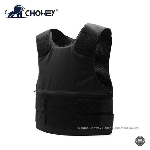 Concealable Bulletproof Vest Black Color BV1079