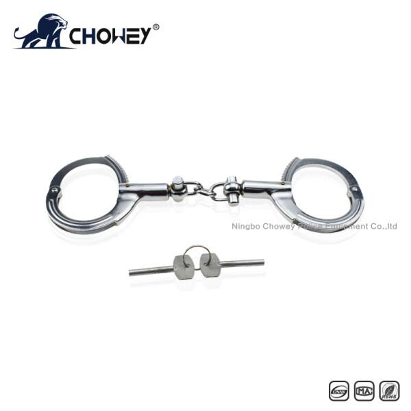 Nickel plated carbon steel handcuffs HC0010