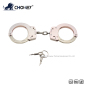Nickel plated carbon steel handcuffs HC0050
