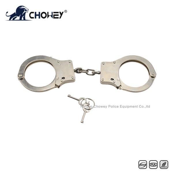 Nickel plated carbon steel handcuffs HC0090