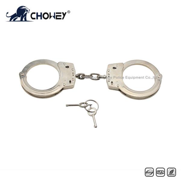 Nickel plated carbon steel handcuffs HC0211