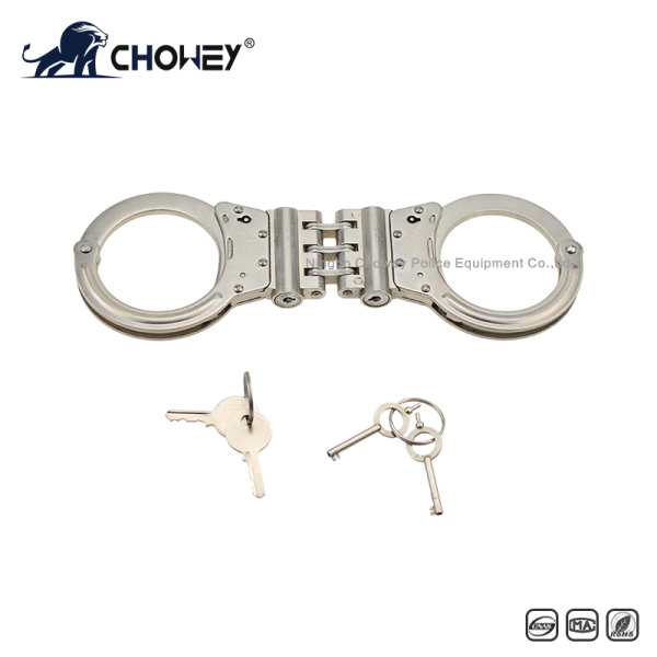 Nickel plated carbon steel handcuffs HC0212