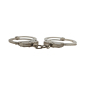 Nickel plated carbon steel handcuffs HC0854