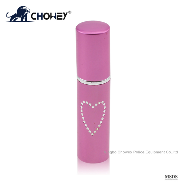 Lipstick type mini pepper spray PS05M099 for self defense