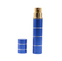 Lipstick type pepper spray PS08M076 for self defense blue