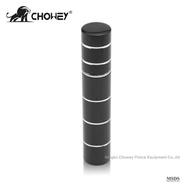 Lipstick type pepper spray PS08M077 for self defense black